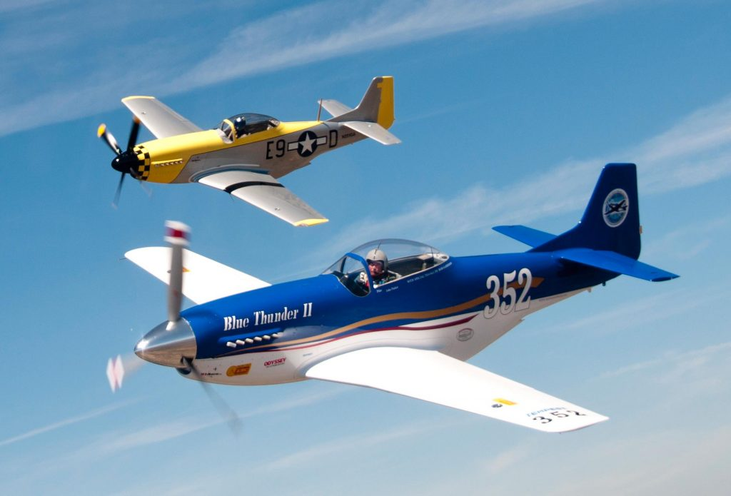 The A2a Simulations Community View Topic P51 Blue