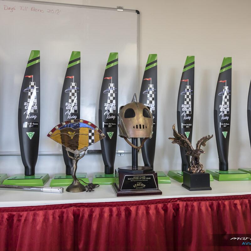 2017 Sport Class Trophies