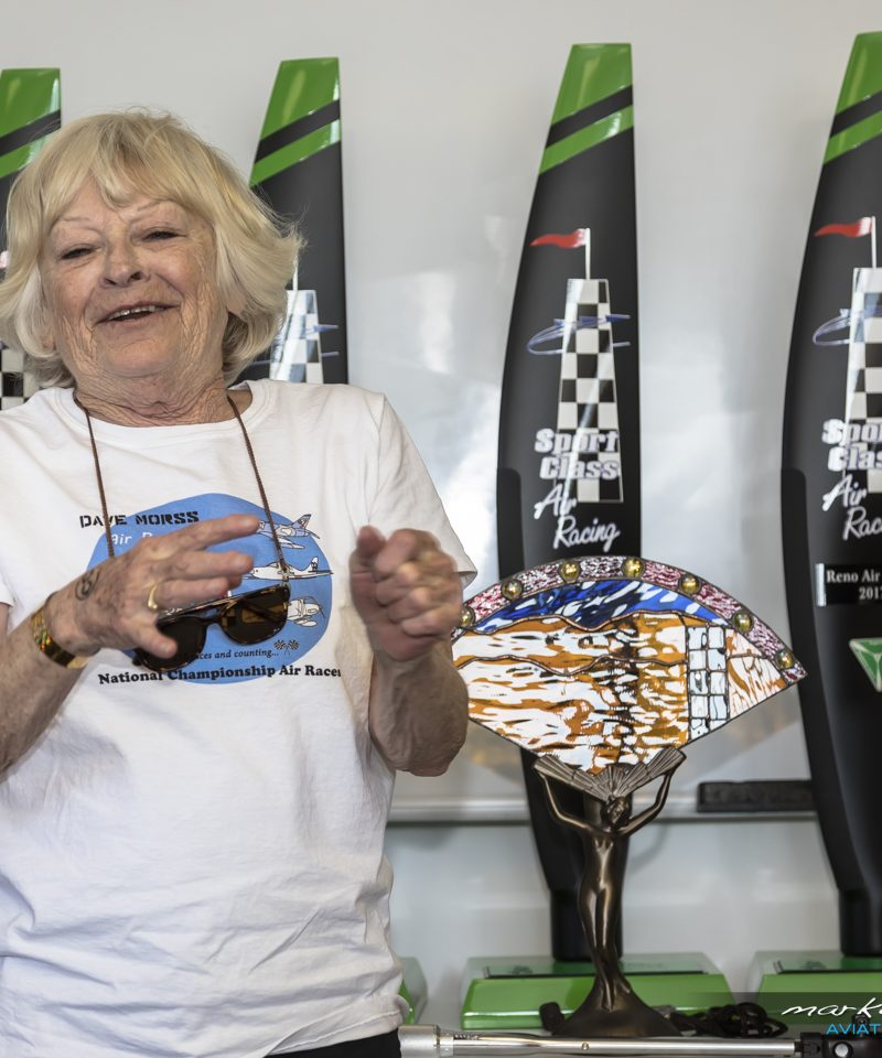Karen Morss - Fastest Women Trophy